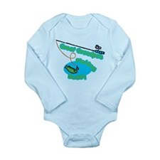 Great Grandpa's Fishing Buddy Long Sleeve Infant B
