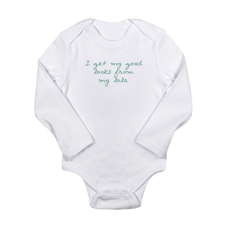 Get my Looks from Lola Long Sleeve Infant Bodysuit