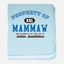 Property of Mammaw baby blanket
