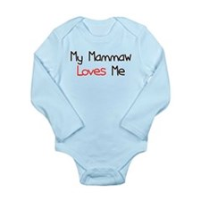 My Mammaw Loves Me Long Sleeve Infant Bodysuit
