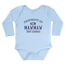 Property of MawMaw Long Sleeve Infant Bodysuit