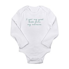 Get my Looks from Memere Long Sleeve Infant Bodysu
