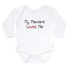 My Memere Loves Me Long Sleeve Infant Bodysuit