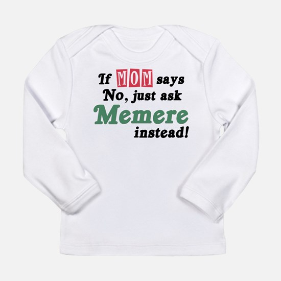Just Ask Memere Long Sleeve Infant T-Shirt