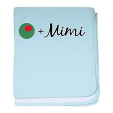 Olive Mimi baby blanket