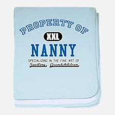 Property of Nanny baby blanket
