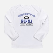Property of Nonna Long Sleeve Infant T-Shirt