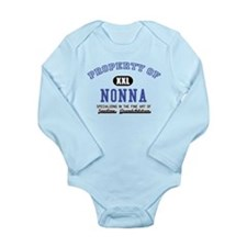 Property of Nonna Baby Suit