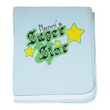 Nonni's Super Star baby blanket