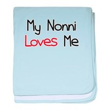 My Nonni Loves Me baby blanket
