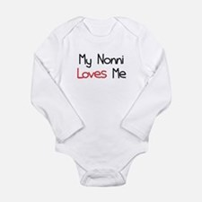 My Nonni Loves Me Long Sleeve Infant Bodysuit
