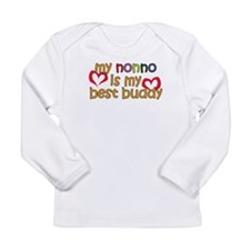 Nonno is My Best Buddy Long Sleeve Infant T-Shirt