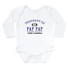 Property of Pap Pap Long Sleeve Infant Bodysuit