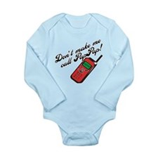 Don't Make Me Call PapPap! Onesie Romper Suit