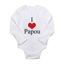 I Love (Heart) Papou Baby Outfits