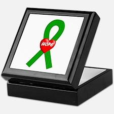 Green Hope Keepsake Box
