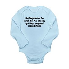 Pepa Wrapped Long Sleeve Infant Bodysuit