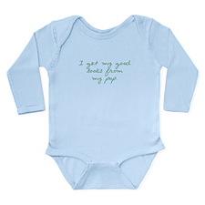 Get my Looks from Pop Long Sleeve Infant Bodysuit