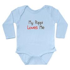 My Poppi Loves Me Long Sleeve Infant Bodysuit