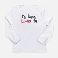 My Poppy Loves Me Long Sleeve Infant T-Shirt