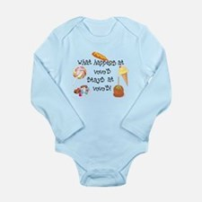 What Happens at VoVo's... Long Sleeve Infant Bodys