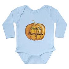 Vovo's Pumpkin Long Sleeve Infant Bodysuit