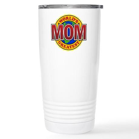 World's Greatest Mom Stainless Steel Travel Mug