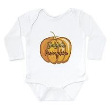 YaYa's Pumpkin Long Sleeve Infant Bodysuit