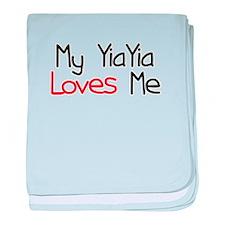 My YiaYia Loves Me baby blanket