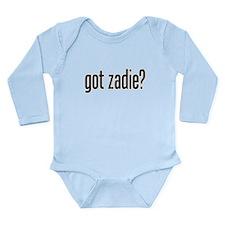 got zadie? Long Sleeve Infant Bodysuit