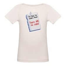 No Rules at Zadie's House Tee
