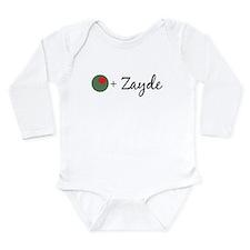 Olive Zayde Long Sleeve Infant Bodysuit