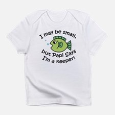 Papi Says I'm a Keeper Infant T-Shirt