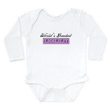 World's Greatest Lolly Long Sleeve Infant Bodysuit