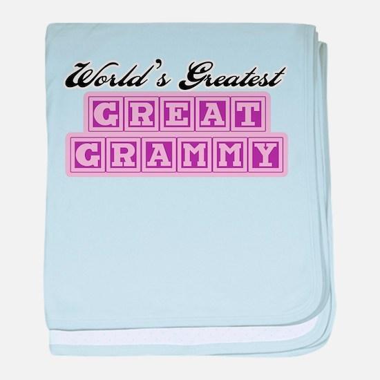 World's Greatest Great Grammy baby blanket