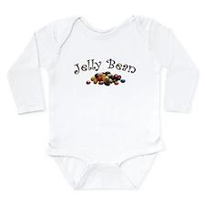 Jelly Bean Long Sleeve Infant Bodysuit