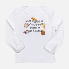 Tina's Oma and Opa Design Long Sleeve Infant T-Shi