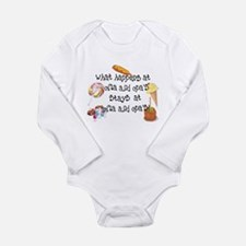 Tina's Oma and Opa Design Long Sleeve Infant Bodys