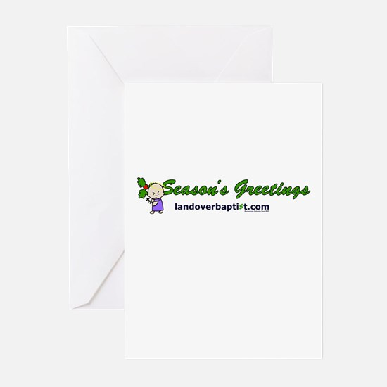 Cute Atheist Greeting Cards (Pk of 10)