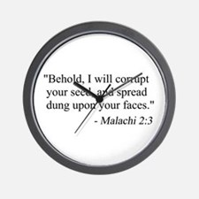 Cute Funny secular Wall Clock