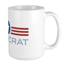 Star Stripes Democrat Mug