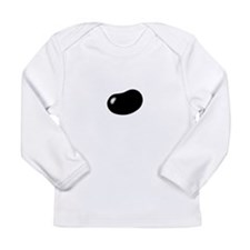 best black jellybean Long Sleeve Infant T-Shirt