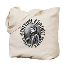 Geoffrey Chaucer Tote Bag