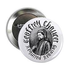 """Geoffrey Chaucer 2.25"""" Button"""