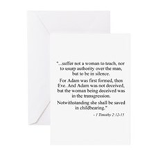 Cute Funny secular Greeting Cards (Pk of 10)