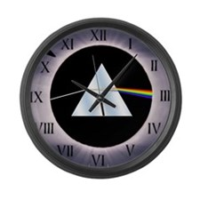 Cute Refraction Large Wall Clock