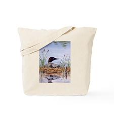 Nesting Loons Tote Bag