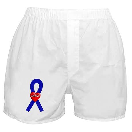 Blue Hope Boxer Shorts