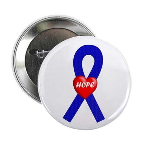 "Blue Hope 2.25"" Button (100 pack)"