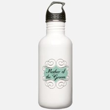 Mother of the Groom Aqua Water Bottle